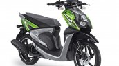 Yamaha X-Ride 125 green front three quarter