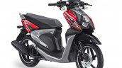 Yamaha X-Ride 125 red front three quarter