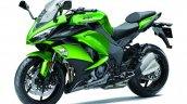 2017 Kawasaki Ninja 1000 green front three quarter left