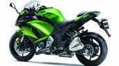 2017 Kawasaki Ninja 1000 green rear three quarter left