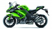 2017 Kawasaki Ninja 1000 green side