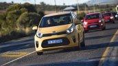 2017 Kia Picanto Yellow body colour South Africa