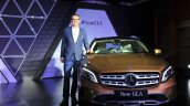 2017 Mercedes GLA India launch image