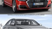 2018 Audi A8 vs. Audi 2014 Audi A8 - Old vs. New front three quarters right side