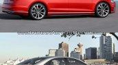 2018 Audi A8 vs. Audi 2014 Audi A8 - Old vs. New right side