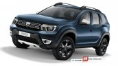 2018 Dacia Duster (2018 Renault Duster) front three quarters left side rendering