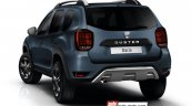 2018 Dacia Duster (2018 Renault Duster) rear three quarters left side rendering