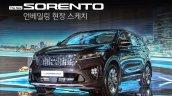 2018 Kia Sorento (facelift) front three quarters left side