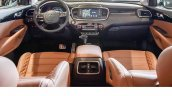 2018 Kia Sorento (facelift) interior dashboard