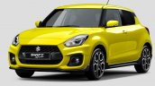 2018 Suzuki Swift Sport front three quarters