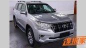 2018 Toyota Land Cruiser Prado (facelift) exterior spy shot