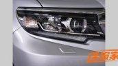 2018 Toyota Land Cruiser Prado (facelift) headlamp