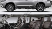 2018 Toyota Land Cruiser Prado profile and cabin