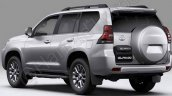 2018 Toyota Land Cruiser Prado rear three quarters