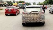 2018 Toyota Yaris rear spy shot