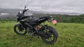 Bajaj Pulsar NS 160 left three quarter near