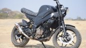 Bajaj Pulsar NS 200 By Motorland Customs front right three quarters