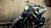 Bajaj Pulsar NS 200 By Motorland Customs front three quarters