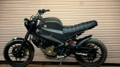 Bajaj Pulsar NS 200 By Motorland Customs side view