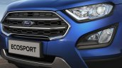 Brazilian-spec 2018 Ford EcoSport (facelift) front fascia