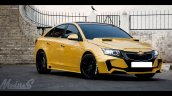 Chevrolet Cruze Project 'Yellow Transformer' front three quarter