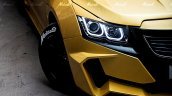 Chevrolet Cruze Project 'Yellow Transformer' headlamp