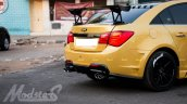 Chevrolet Cruze Project 'Yellow Transformer' rear end