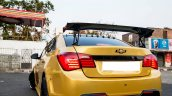 Chevrolet Cruze Project 'Yellow Transformer' wing