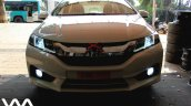 Custom Honda City by VM Customs lights on