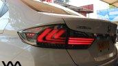 Custom Honda City by VM Customs taillights on