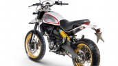 Ducati Scrambler Desert Sled rear three quarter