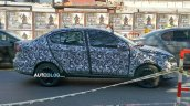 Fiat Argo Sedan Spied in Argentina Side View