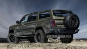 Ford Bronco 4-door rear three quarters rendering seventh image