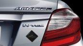 Honda Amaze Privilege Edition rear badging