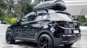 Hyundai Creta diesel with stealth exterior rear quarter