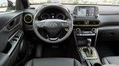 Hyundai Kona dashboard driver side