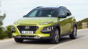 Hyundai Kona front three quarters
