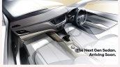 Indian-spec 2017 Hyundai Verna interior teaser