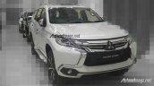 Indonesian-spec Mitsubishi Pajero Sport front three quarters