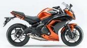 Kawasaki Ninja 400 orange side right