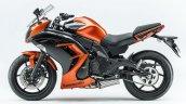 Kawasaki Ninja 400 orange side