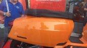 Lambretta V Special orange seat