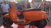 Lambretta V Special orange side left