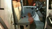 Mahindra Jeeto Minivan India launch front seat