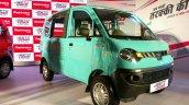 Mahindra Jeeto Minivan India launch front three quarter