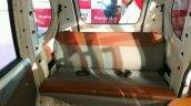 Mahindra Jeeto Minivan India launch rear seat