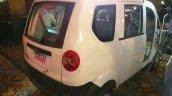 Mahindra Jeeto Minivan India launch rear three quarter