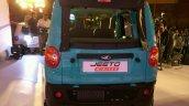 Mahindra Jeeto Minivan India launch rear