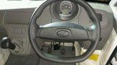 Mahindra Jeeto Minivan India launch steering wheel