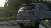 Mahindra KUV100 Facelift Spy Shots Tail